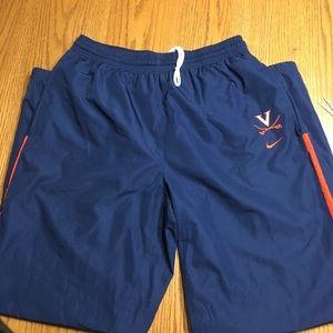 UVA Nike workout pants. Size XL.
